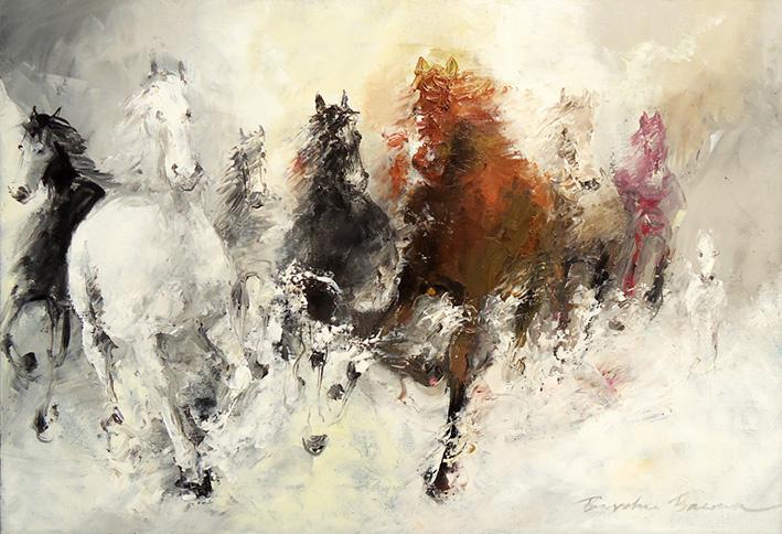 Borchu Bawaa Pferdeherde 2