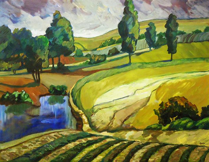 Peter Canty Landschaft 5